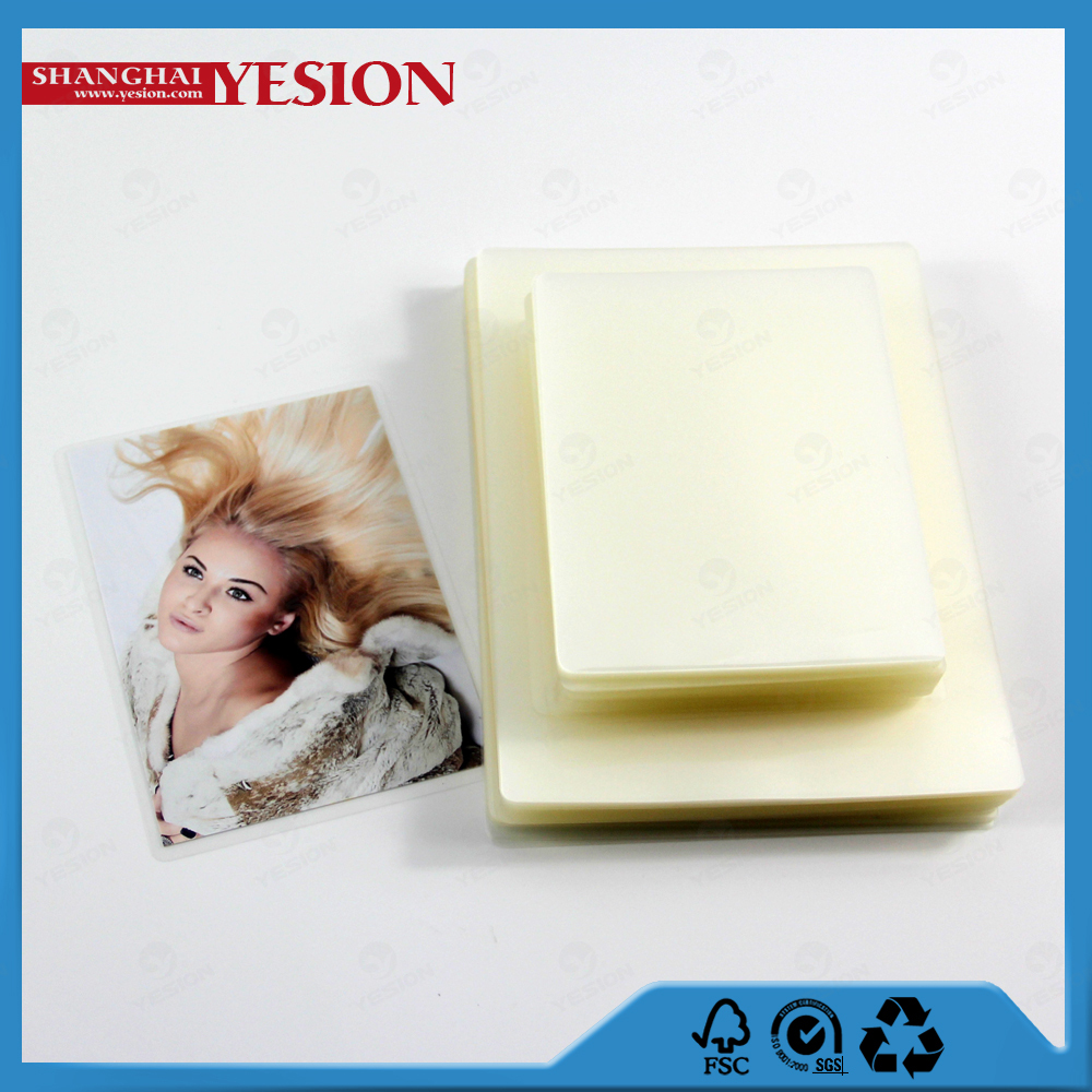 Yesion 2015 New Superior Quality Polyester Film Coated EVA/PET (laminating film), Thermal Glossy Lamination Film Puch