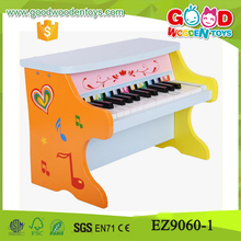 2017 New Design Educational Music Toys Kids 25pcs Music Keyboard Mini Piano Wooden Piano Toys