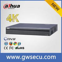 Cost-effective dahua 32ch 16POE NVR NVR4432-16P-4K support 128 users, iphone remote view
