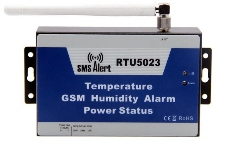 GSM Enviroment Alarm Temperature,Humidity,AC Power off Gsm SMS Alert Controller
