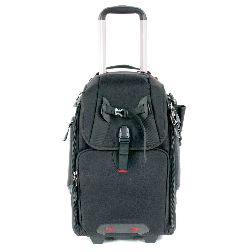 Best Selling Black 1000D Nylon Camera Trolley Bag in Stock