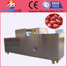 Best price conveyor type date seeds removing machine, dates seed remover