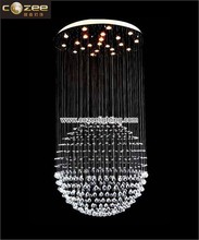 Modern Contemporary Design Lead Crystal Chandeliers Ceiling Hanging Lamps Lights Lighting Fixtrure CZ8019/22