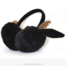 high quality custom deer ear cartoon pattern earmuffs in Winter