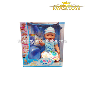 Girl promotional interaction toys lovely baby boy doll