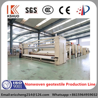 2015 China QINGDAO KAISHUO non-woven fabric production line nonwoven production line