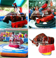 Kids Family Rids Electric Inflatable Mechanical Rodeo Bull