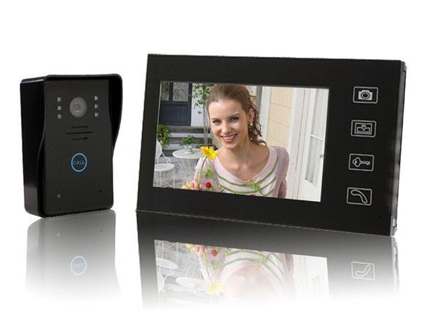 7 Inch Color Video Door Phone for home