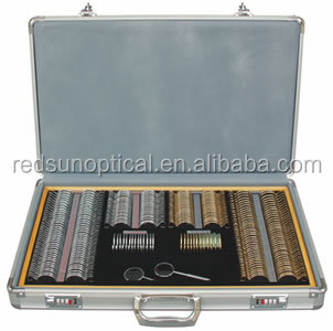 china optical instruments optical trial lens set price