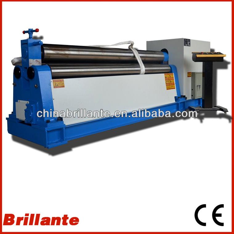 <strong>W11</strong> <strong>6X2000</strong> SHEET ALUNINIUM MECHANICAL BENDING ROLL MACHINE/BRILLANTE