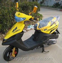 new design yellow and white 50cc 125cc 150cc mini gas cooler scooter