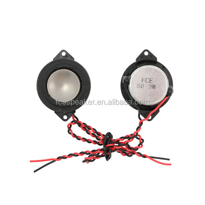 35mm 8ohm 3W miniature audio speaker for laptop monitor