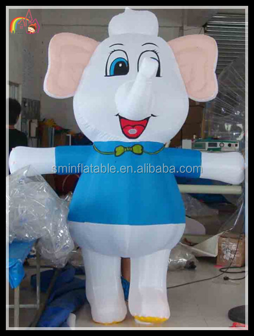 inflatable elephant suit , body inflation suites, inflatable animal suit