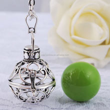 2014 hot styles pregnancy pendant necklace angel caller for mom and baby H04A13