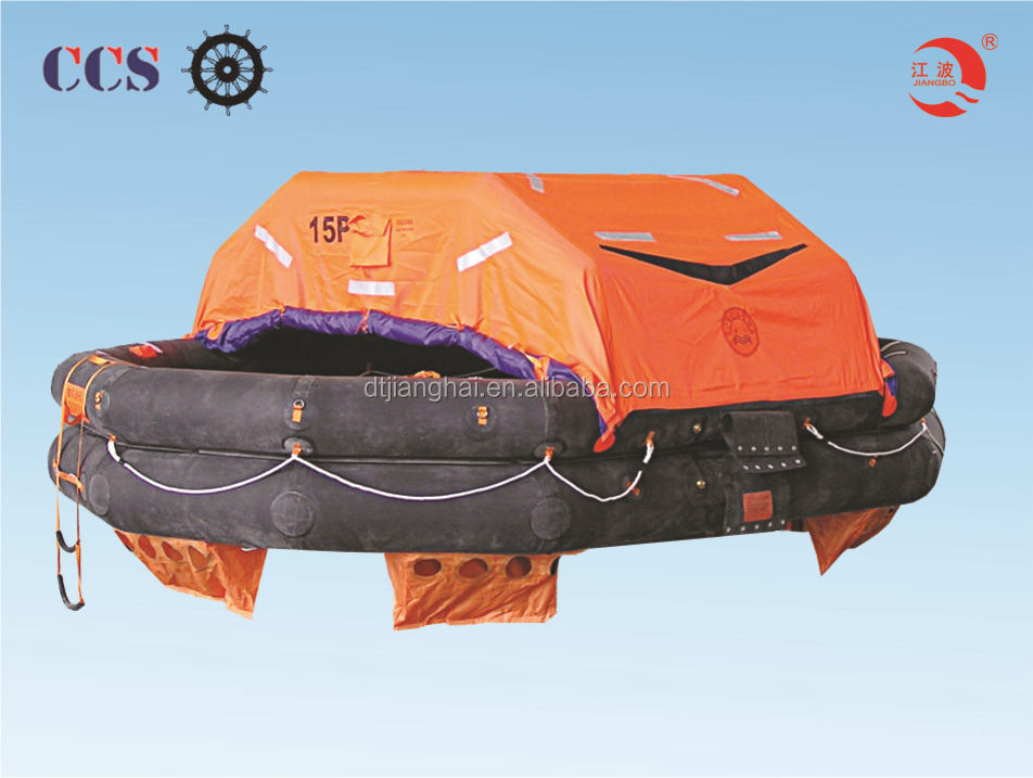 Solas CCS / EC inflatable life rafts with 25 person