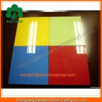 Moisture-Proof UV Polymer Acrylic MDF for Kitchen Shutters