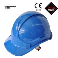 Custom safety helmet with rain trough design