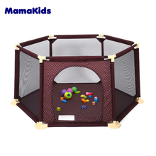 Hot Selling Baby Plastic Fence Kids Playpen Indoor Kids Play Fence