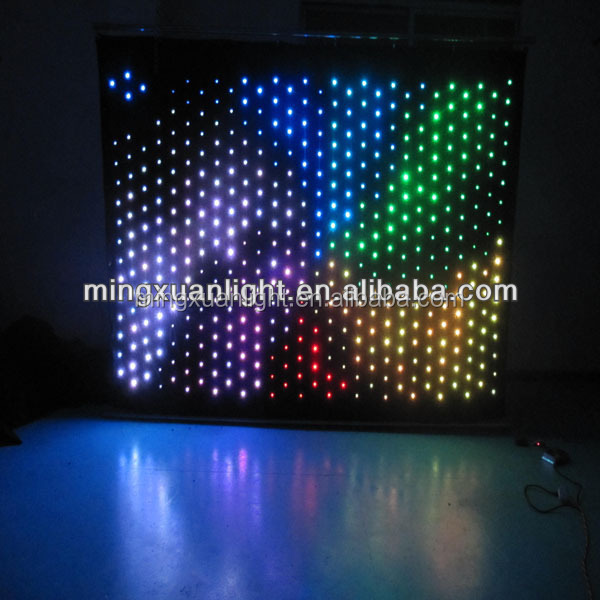 Custom 8chs full color stage curtain