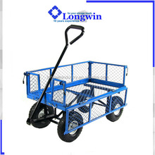 steel small mesh collapsible garden cart