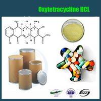 Veterinary Antibiotic Drugs for injection Oxytetracycline HCL,API cas 2058-46-0 Oxytetracycline HCL powder