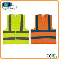 High Visibility Glow Safety Vest, Highway Safety Vest, Cheap Safety Vests