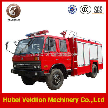 Dongfeng 4x2 Foam and Water Fire Truck, Water Tanker 4000L