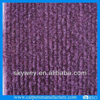 Non woven polyester Stripe needle punch carpet