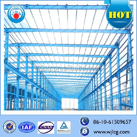 China supplier galvanized H type steel frame steel structure building/hotel/warehouse/airport/farm