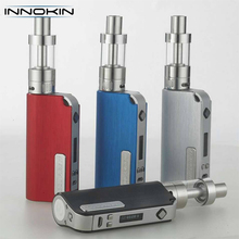 China Supplier Innokin iTaste Cool fire 4 mod e fire vaporizer pen kit in Blue ,gold color , mini box vape mod