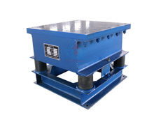 China best quality and resonable price concrete vibrating table with frequency adjustment