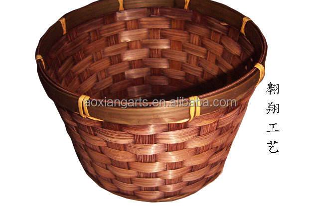 Basket Weaving Supply Companies : Wholesale woven bamboo basket buy weaving