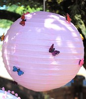 latest DIY handmade butterfly lantern China paper lantern