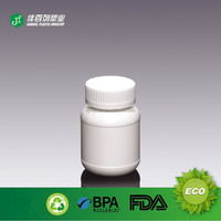 190ml Cixi Plastic HDPE Bottles For Pill DE-7