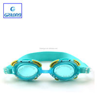 GELANG G-1300 Best funny wholesale silicone kids swimming goggles