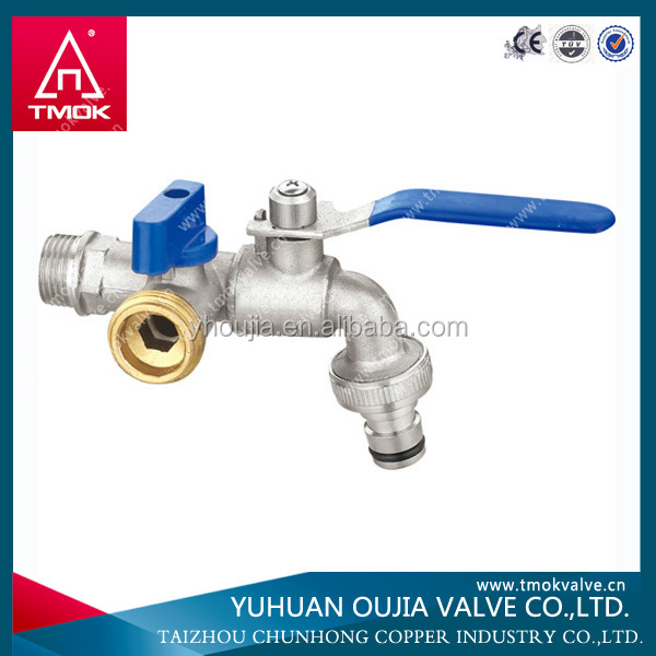 TMOK MACHING NOZZLE IRON HANDLE ANY COLOR BRASS BIB TAP BIB COCK