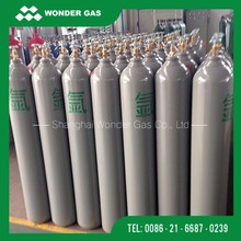 Promotion 50L 150bar Empty Stainless Steel Argon Gas Cylinder Price By China Manufacturer