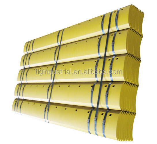 5D9557 Motor spare part grader blades cutting edges 31MnB boron steel