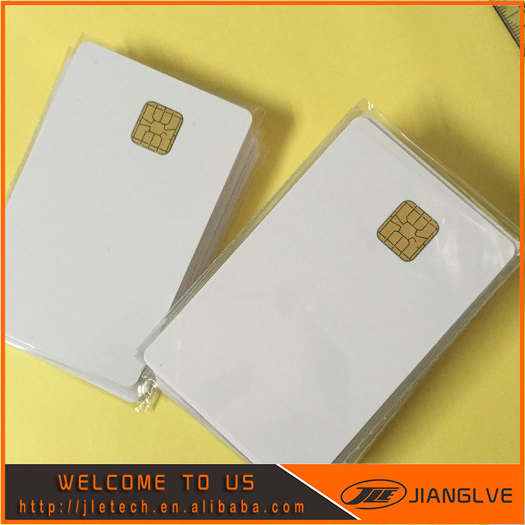 Waterproof Printable Blank Contact PVC Smart IC Card with Sle4428 Chip For Epson/Canon Inkjet Printer