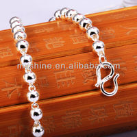 the new fashion bangle for beaded bangle silver 925