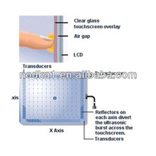6.4-29 Custom Design Acceptable Surface Acoustic Wave (SAW) for lcd touch panel