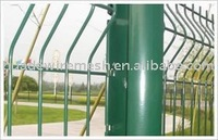 house fence, powder coated mesh panel , Plastic Coated Wire Mesh Fence
