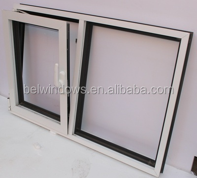 Aluminum Profile Outward Opening Double Glass Tilt And Turn Window Factory Price