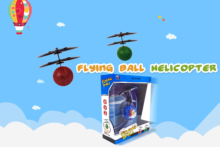 Infrared Ray Interaction Mini Craft Flying Ball
