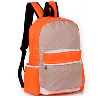 Canvas Cotton Rucksack Backpack Strong Book School Bags
