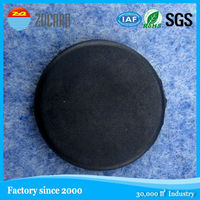 Washable HF 13.56MHz 14443A PPS RFID F08 Disc Rfid Tag For Wash-house