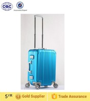Trolley luggage suitcase type aluminum material for travel