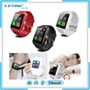 2016 hot sale u8 bluetooth smartwatch sport track pedomter and sleep monitor smartwatch u8 plus for android and ios mobile phone
