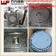 Round plastic manhole cover mold/China SMC Plastic Compression Moulds/China BMC Plastic Compression manhole cover Molds