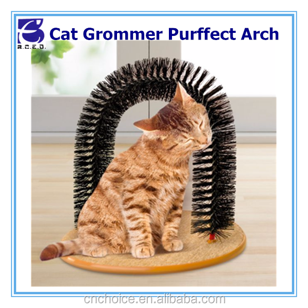 hot pet product kittens grooming toy L 36cmx W 28.5cmxH 34cm cat purrfect scratching post